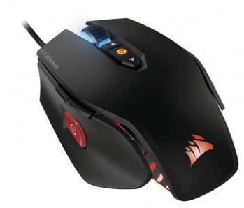 CORSAIR MOUSE GAMER OPTICO,  RGB,  ALAMBRICO,  MULTICOLOR-NEGRO - TiendaClic.mx