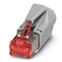 CONECTOR ENCHUFABLE RJ45,  PHOENIX CONTACT IP20, 8 POLOS,  CAT6 - CUC-STD-C1PGY-S/ R4E81 - TiendaClic.mx