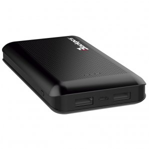 POWER BANK BLACKPCS SHIELD NEGRO 15000 MAH LED (EPBBL11-15000) - TiendaClic.mx