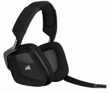 CORSAIR AUDIFONOS GAMER VOID PRO WIRELESS 7.1,  RGB,  COLOR NEGRO - TiendaClic.mx
