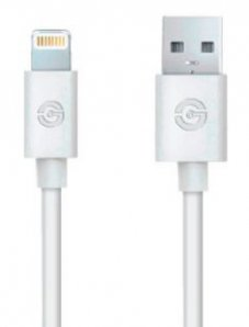 CABLE USB GETTTECH A-LIGHTNING /  1.5M /  BLANCO(JL-3570) - TiendaClic.mx