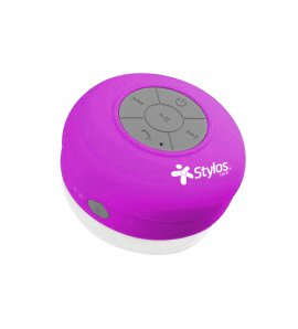 BOCINA STYLOS WATERPROOF BLUETOOTH ROSA 2W BLUETOOTH SPEAKER STSWAX1P - TiendaClic.mx