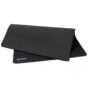 MOUSEPAD EXTRAGRANDE GAMING NEGRO IMPERMEABLE MANHATTAN 425414  - TiendaClic.mx