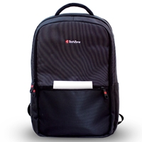 BACKPACK TURING TECHZONE INSPIRATION TZ19LBP10 COLOR NEGRO DUO TONO - TiendaClic.mx