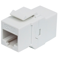 COPLE RJ45-RJ45 INTELLINET CAT6 KEYSTONE  UTP RED BLANCO - TiendaClic.mx