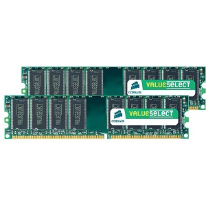 CORSAIR 4GB (2X 2GB) DIMM DDR2 667MHZ UNBUFFERED CL5 - TiendaClic.mx