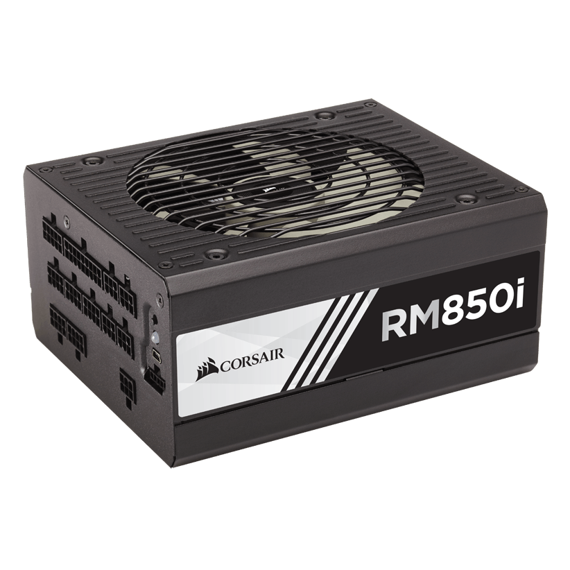 FUENTE DE PODER CORSAIR RM850i DIGITAL 850W 80 PLUS GOLD CP-9020083-NA - TiendaClic.mx
