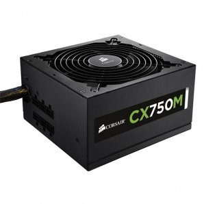 FUENTE DE PODER CORSAIR CX750M 750W 80 PLUS BRONZE - TiendaClic.mx