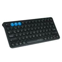 TECLADO MULTIDISPOSITIVO SWITCH/ ACTECK/  BLUETOOTH SLIM BATERIA RECARGABLE/ NEGRO/ AC-926577 - TiendaClic.mx