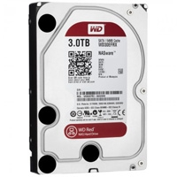 DISCO DURO WD RED 3.5 3TB SATA3 6GB/ S 64MB INTELLIPOWER 24X7 HOTPLUG P/ NAS 1-8 BAHIAS - TiendaClic.mx