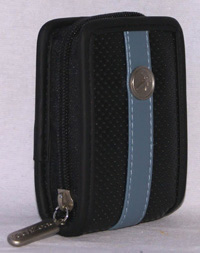 ESTUCHE TECH ZONE P/ CAMARA EXECUTIVE NEG/ AZUL - TiendaClic.mx