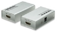KIT EXTENSOR HDMI MANHATTAN  VIA UTP RJ45 CAT5E/ CAT6 1080P HASTA 60M - TiendaClic.mx