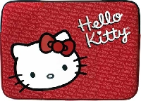 FUNDA DE NEOPRENO TECH ZONE ROJA 11 HELLO KITTY - TiendaClic.mx