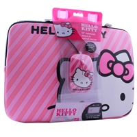 FUNDA PARA LAPTOP DE 14 PULGADAS DE HELLO KITTY INCLUYE MOUSE - TiendaClic.mx
