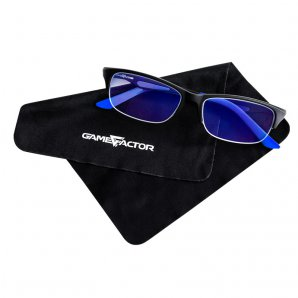 LENTES VORAGO PARA PC GAME FACTOR GG300,  ANTI BLUE LIGHT  - TiendaClic.mx