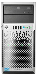 HP PROLIANT ML310E GEN8 2-CORE 3.33GHZ/ 2GB/ DVD/ 500GB SATA/ B120I - TiendaClic.mx