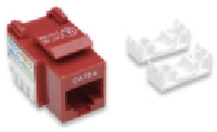 JACK INTELLINET CAT 5E DE IMPACTO ROJO - TiendaClic.mx