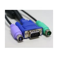 KVM D-LINK PS2-VGA CABLES 3 MTS - TiendaClic.mx