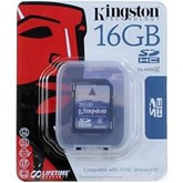 Memoria Flash microSDHC Kingston, Clase 4 C/ Adaptador 16 GB - TiendaClic.mx