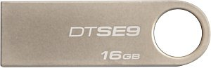 MEMORIA KINGSTON 16GB USB 2.0 METALICA PLATA - TiendaClic.mx