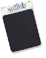 MOUSE PAD 6 MM MANHATTAN NEGRO (EN BOLSA) - TiendaClic.mx