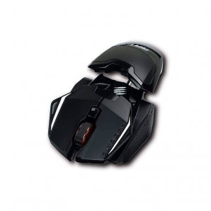MOUSE OPTICO VERBATIM GAMING R.A.T. 1+2000 DPI MAD CATZ MR01MCAMBL00 - TiendaClic.mx