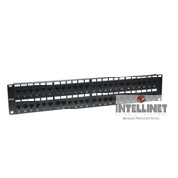 PANEL DE PARCHEO INTELLINET CAT 6,  48 PUERTOS - TiendaClic.mx