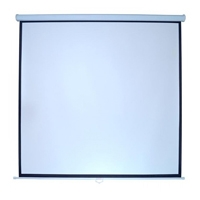 PANTALLA MULTIMEDIA SCREEN MSC-213 BCO 120 DIAGONAL FORMATO 1:1 COLOR BLANCO MATE P/ COLGAR MANUAL - TiendaClic.mx