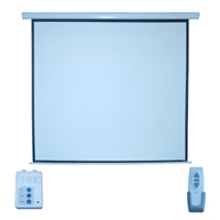 PANTALLA MULTIMEDIA SCREEN MSE-213 ELECTRICA 120 PULGADAS FORMATO 1:1 - TiendaClic.mx