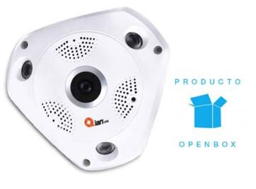 CAMARA IP 360° EXTERIOR QIAN QC360X18001 1.3MP 1280*960 3IR 15MTS (O.B - TiendaClic.mx