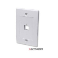 TAPA BLANCA PARA CAJA DE PARED INTELLINET,  1 SALIDA - TiendaClic.mx