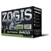 T.DE VIDEO PCIE LP GEFORCE 8400GS 1GB/ 64BIT/ DDR3 ZOGIS - TiendaClic.mx