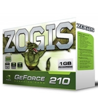 T.DE VIDEO ZOGIS GEFORCE 210 FERMI 1GB/ 64BIT DDR3 PCIE DVI/ VGA/ HDMI W7 - TiendaClic.mx