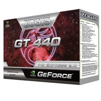 T.DE VIDEO ZOGIS GEFORCE GT440 FERMI 1GB/ 128BIT DDR3 PCIE DVI/ VGA/ HDMI SLI W7 - TiendaClic.mx