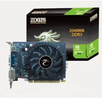 T.DE VIDEO ZOGIS GEFORCE GT640 2GB/ 128BIT DDR3 PCIE2.0 DVI/ VGA/ HDMI SLI W7 - TiendaClic.mx