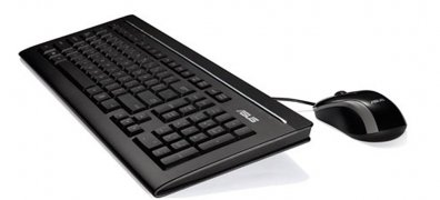 KIT U2000 KEYBOARD+MOUSE/ BK/ SP  - TiendaClic.mx