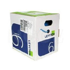 LEVITON BOBINA CABLE UTP CAT6 GRIS 305MTS  - TiendaClic.mx