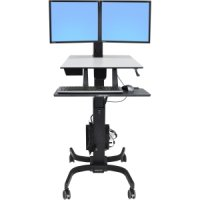 WORKFIT-C,  DUAL SIT-STAND WORKSTATION - TiendaClic.mx