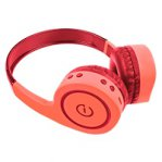 AUDÍFONOS ON-EAR INALAMBRICOS MANOS LIBRES CON BT FM SD 3.5MM EASY LINE BY PERFECT CHOICE CORAL - TiendaClic.mx