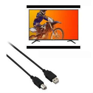 "SHARP TV LED 40"" SMART 4HDMI + CABLE V7 USB 2.0 1.8 METROS  - TiendaClic.mx"