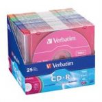 DISCO COMPACTO VERBATIM R 52X 80MIN 700MB COLOR C/25 - TiendaClic.mx