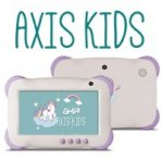 TABLET GHIA AXIS KIDS / QUAD / 1GB / 8GB / WIFI / ANDROID 7 / VIOLETA - TiendaClic.mx