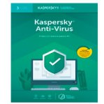 ESD KASPERSKY ANTI-VIRUS / 3 USUARIOS / 1 A?O / DESCARGA DIGITAL - TiendaClic.mx