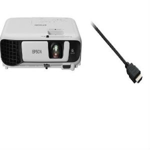 PROYECTOR EPSON POWER LITE X41P   CABLE V7 HDMI 90CM HIGH SPEED - TiendaClic.mx