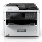 MULTIFUNCIONAL EPSON WORKFORCE PRO WF-C5790, PPM 34 NEGRO / COLOR, INYECCION DE TINTA, USB. WIFI, RED, NCF, ADF, FAX, DUPLEX, CONSUMIBLE BOLSA DE TINTA - TiendaClic.mx