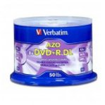 DVD+R DL VERBATIM 8.5GB 8X DOBLE CAPA C/50 PIEZAS - TiendaClic.mx