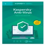 ESD KASPERSKY ANTI-VIRUS / 5 USUARIOS / 1 A?O / DESCARGA DIGITAL - TiendaClic.mx