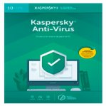 ESD KASPERSKY ANTI-VIRUS / 10 USUARIOS / 2 A?O / DESCARGA DIGITAL - TiendaClic.mx