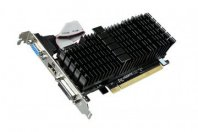 Tarjeta de Video  GIGABYTE PCIE X8 2.0 NVIDIA GEFORCE GT 710/1GB/DDR3/954MHZ/64BIT//DVI+HDMI+VGA/LOW PROFILE - TiendaClic.mx