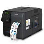 IMPRESORA DE ETIQUETAS EPSON COLOR WORKS TM-C7500G, INYECCION 300 MM/S ANCHO 104 MM 1200 X 600 DPI USB RED - TiendaClic.mx